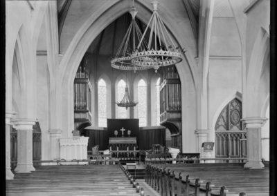 St Matthew's Dunedin William Williams Interior 1895