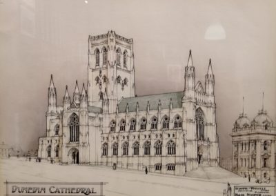 St Paul's Cathedral drawing as originally planned